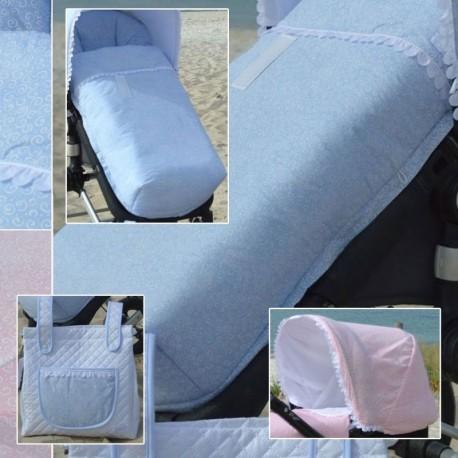 Vestir Silla Invierno Con Vestiduras Joolz - Bugaboo - Camaleon - Bee 3 Y 5 - Jane Muum - Rider Y Otros Dulcescaracolas